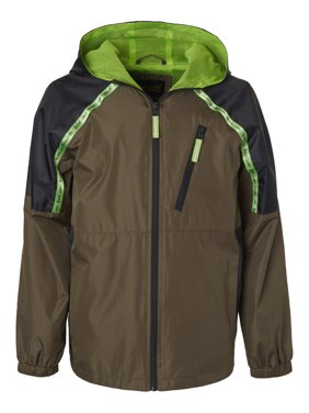 4768ef543 Product Image Zip Up Windbreaker Jacket with Mesh Lining (Big Boys)