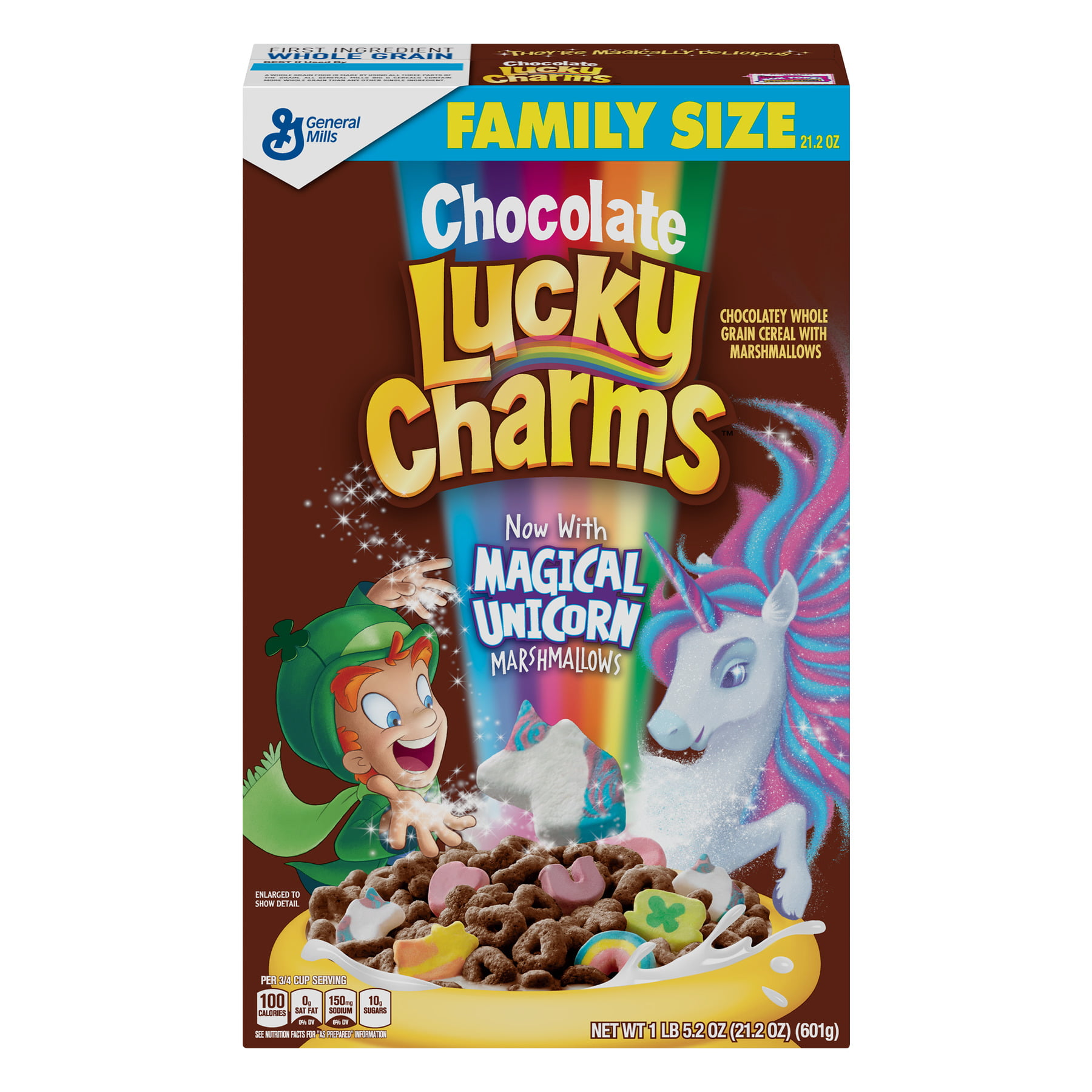 3ccc96b9bb4b (2 Pack) Chocolate Lucky Charms Cereal