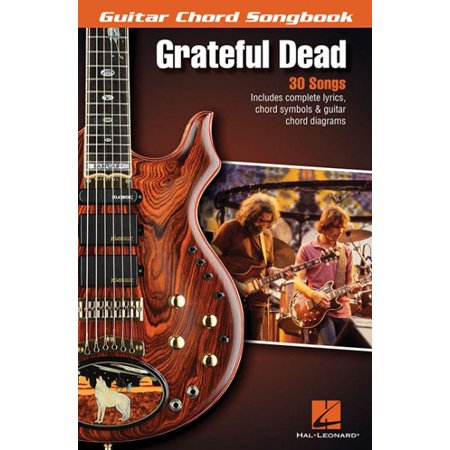 Grateful Dead - Guitar Chord Songbook (Paperback) - Corporate Perks ...