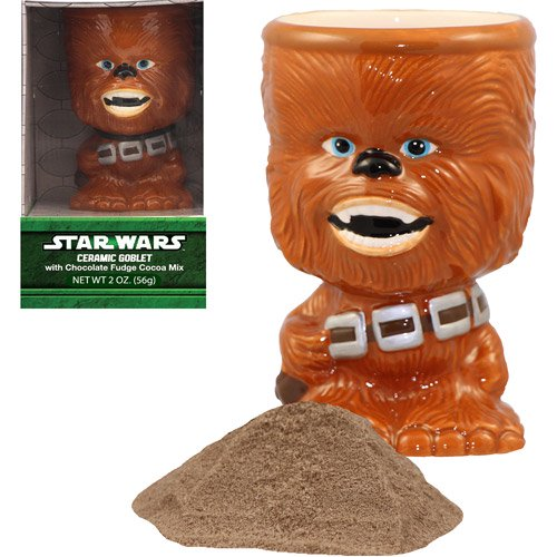 Chocolate Chewbacca Www Dunmorecandykitchen Com: Galerie Star Wars Chewbacca Goblets