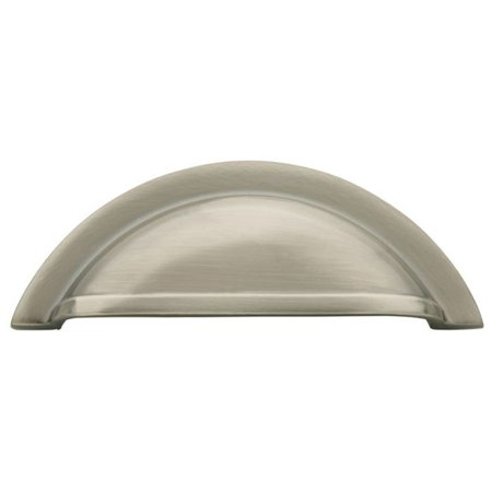 Baldwin Melon Cup Pull (Baldwin 4424151 Cup Cabinet Pull, Antique Nickel )