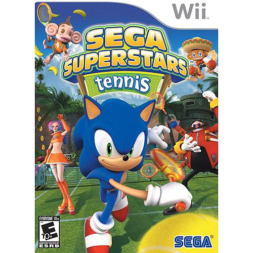 Sega Super Stars Tennis (Wii) - Pre-Owned