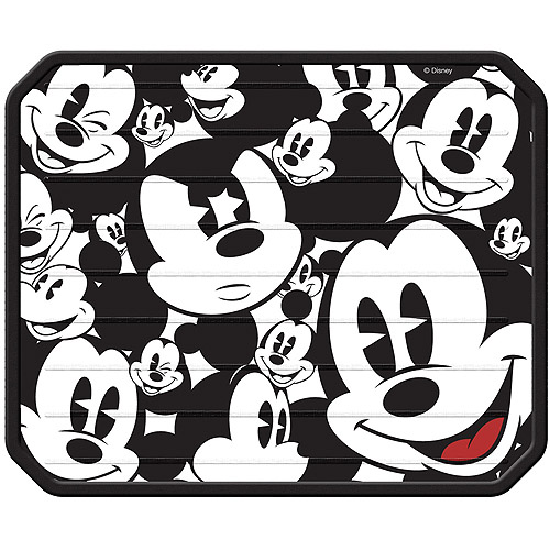 Plasticolor Disney Mickey Mouse Expressions Plasticlear Utility Mat, 1-pack