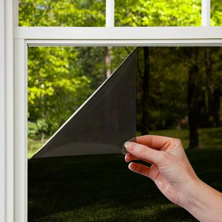Gila Privacy Control Black Window Film. Gila Privacy Control Black Window Film  36  x 6 5    Walmart com