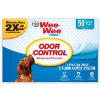 Four Paws Odor Control Wee-Wee Control Training Pads