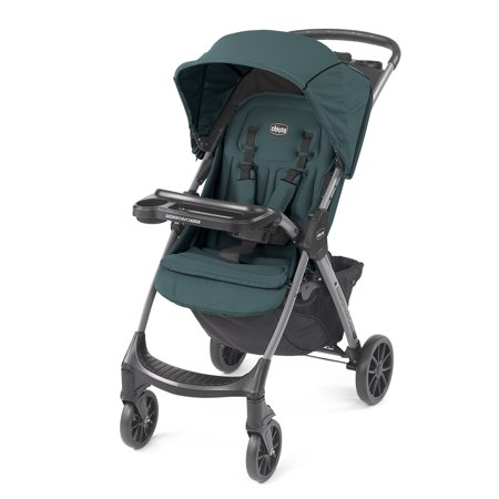 Chicco Mini Bravo Plus Lightweight Stroller - Eucalyptus