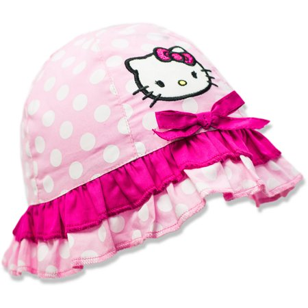 3b27c6aa7 Hello Kitty - Baby Toddler Girls' License Hat - Walmart.com