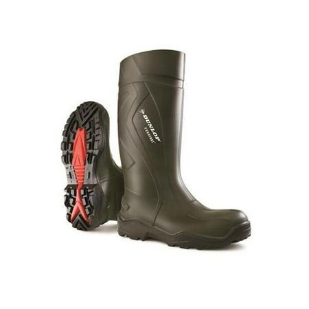 c783773af18 Dunlop D76093315 Dunlop Purofort Plus Full Safety Boot, Dark Green & Black  - Size15
