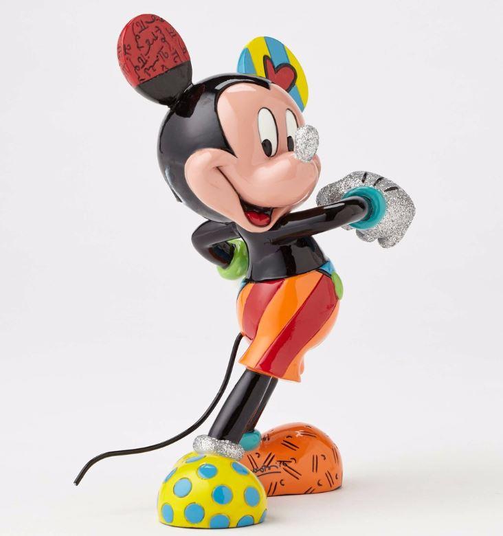 Romero Britto Disney Cheerful Mickey Mouse Pop Art Collec...