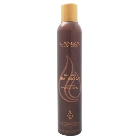 L'Anza Keratin Healing Oil Lustrous Finishing Spray, 10.6 (Best Products For Shiny Glossy Hair)