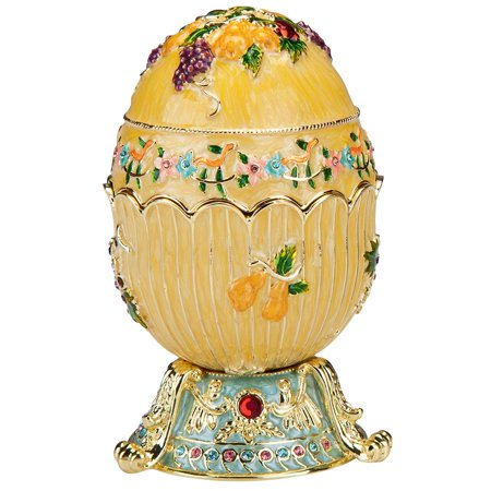 Design Toscano The Ambrosia Collection Romanov Style Enameled Egg: Karis