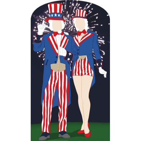 Advanced Graphics 895 Aunt and Uncle Sam Standin- 80