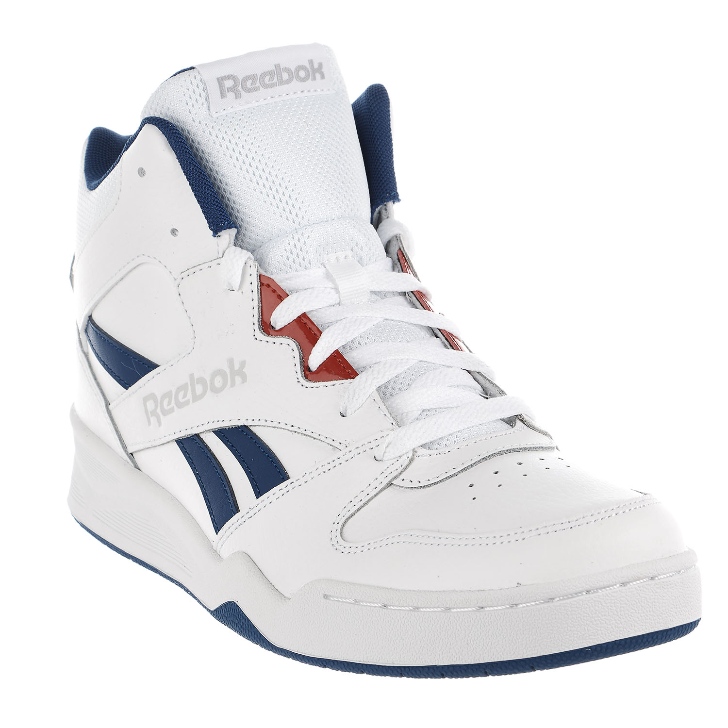 bf08a52659c0 Reebok - Reebok Royal Bb4500 Hi2 Walking Shoe - White Coll Royal Primal -  Mens - 8.5 - Walmart.com