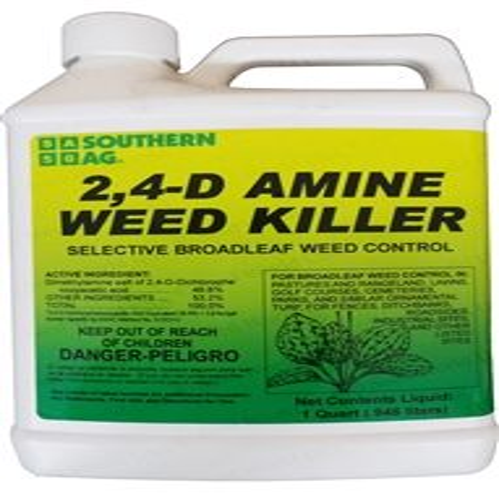 SA 2,4-D Amine Weed Killer Herbicide - 1 Quart