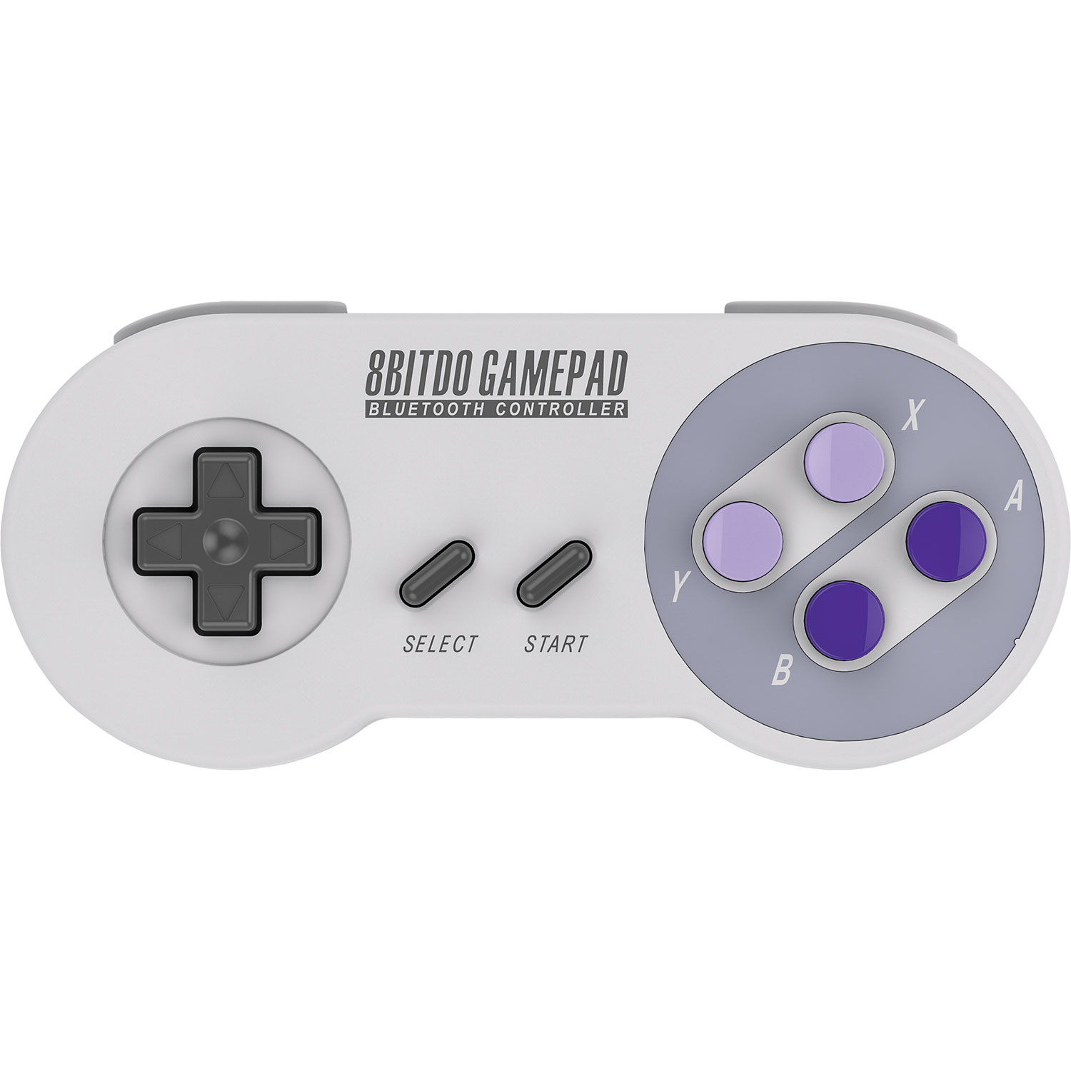 Image of 8bitdo snes30 SNES Bluetooth Controller for IOS Android and PC Gray