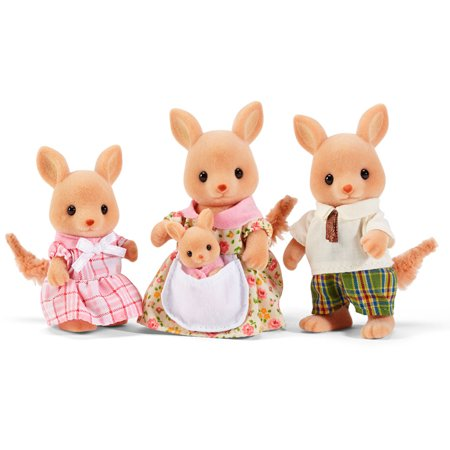 Calico Critters Hopper Kangaroo Family (Best Deals On Calico Critters)