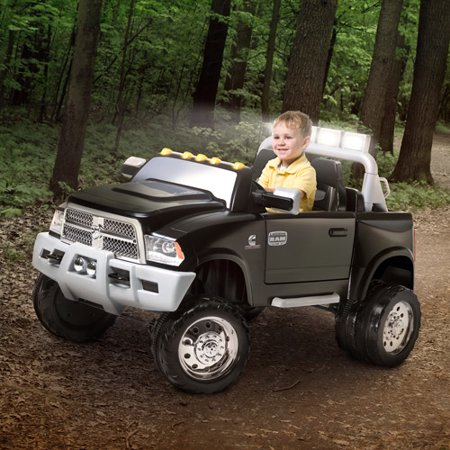kid trax ram dually 12 volt battery powered ride on