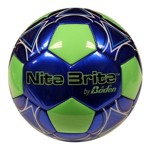 Baden Nite Brite Glow-in-the-Dark Soccer Ball - Size 4