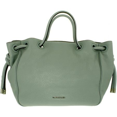 9a3f04305c8951 Michael Kors - Michael Kors Women's Large Dalia Leather Leather Shoulder Bag  Tote - Dusty Blue - Walmart.com