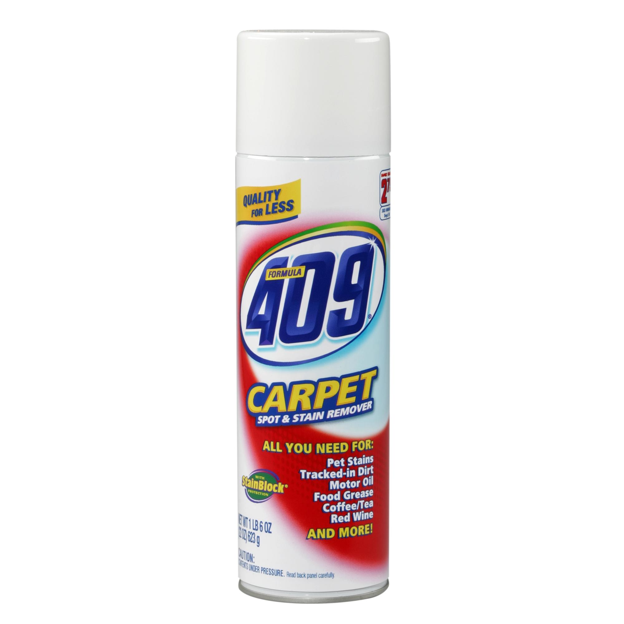Formula 409 Carpet Cleaning Aerosol Can, 22 oz