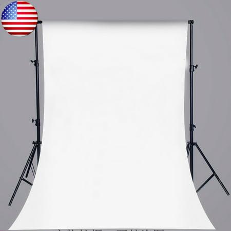 150cm x 210cm White Wall Vinyl Cloth Photography Backdrop Photo Background Studio Props - image 4 de 4