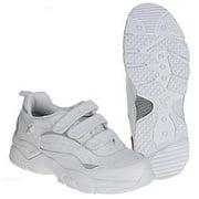 apex x923m men's athletic shoe: 13 x-wide (3e-4e) white velcro