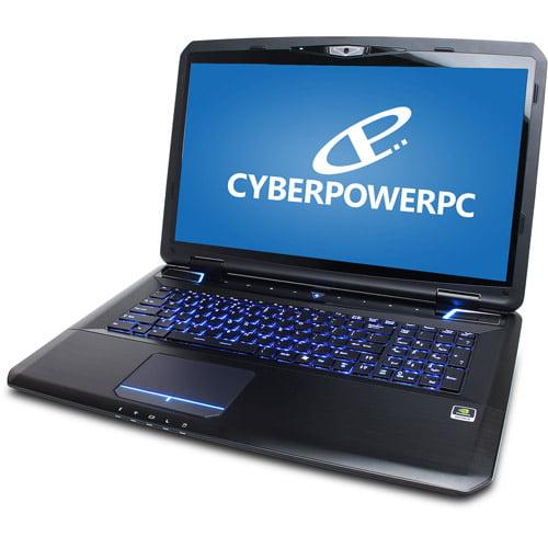 "CyberpowerPC 17.3"" Zeus GZX7-200 Laptop PC with Intel Core i7-3630QM Processor and Windows 8"
