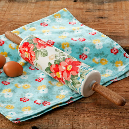 The Pioneer Woman Floral Themed Rolling Pin