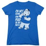 Family Guy In My Pants Womens Short Sleeve Shirt