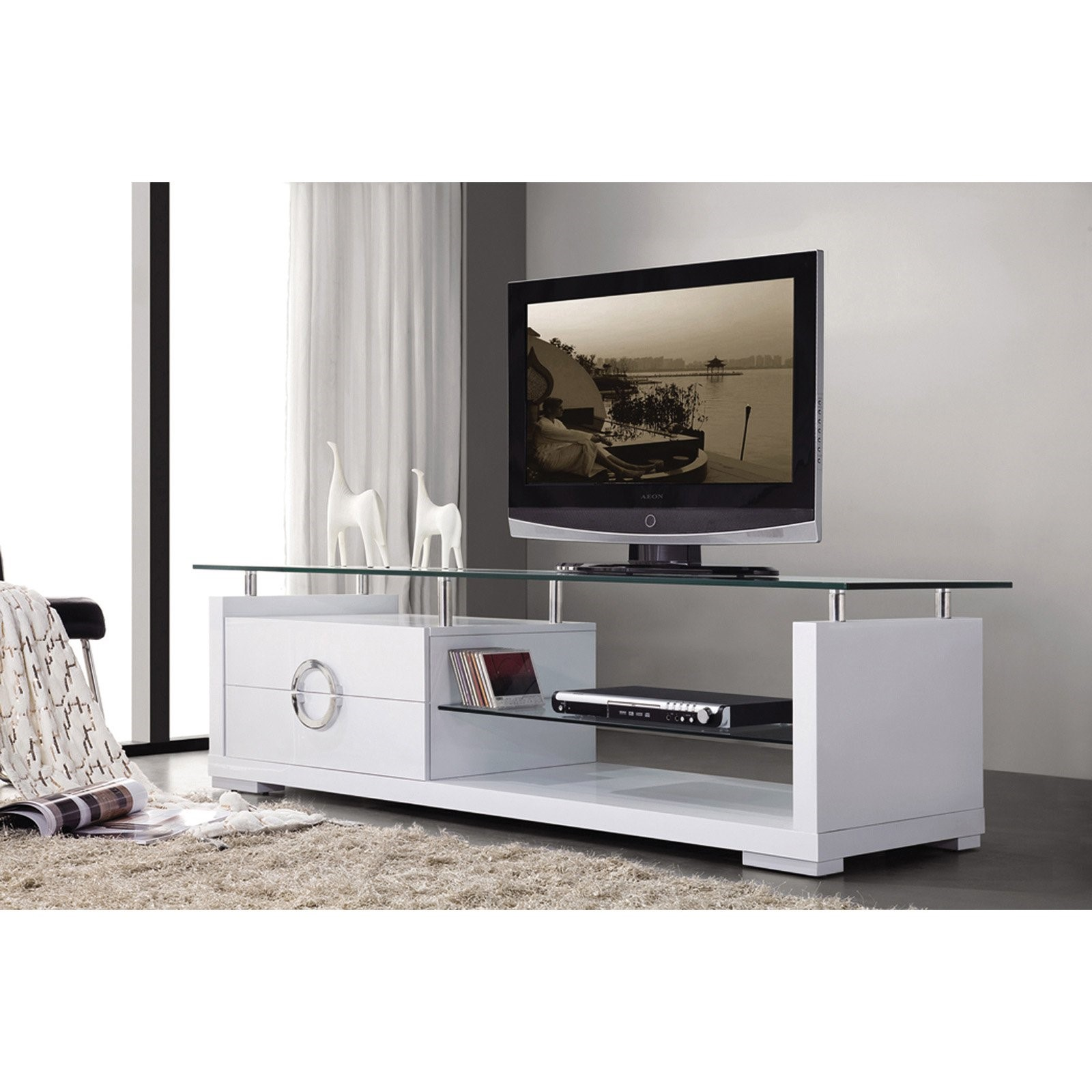 Eagle Furniture Glass TV Stand