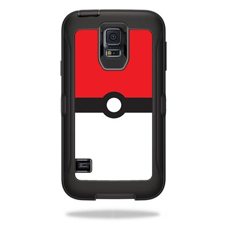 Skin For OtterBox Defender Samsung Galaxy S5  – Battle Ball | MightySkins Protective, Durable, and Unique Vinyl Decal wrap cover | Easy To Apply, Remove, and Change Styles | Made in the USA (Galaxy S5 Red Film)