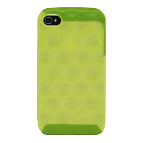 Hard Candy BC4GGRN BC4G-GRN Bubble Case for the iPhone 4S