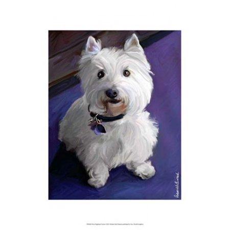 - West Highland Terrier Poster Print by Robert McClintock (13 x 19)