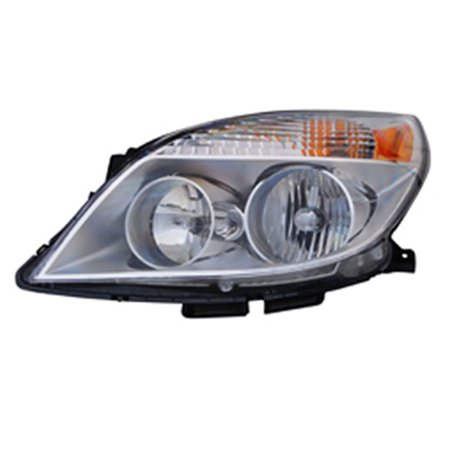 2008-2009 Saturn Aura  Aftermarket Driver Side Front Head Lamp Assembly - Saturn Aura Sedan