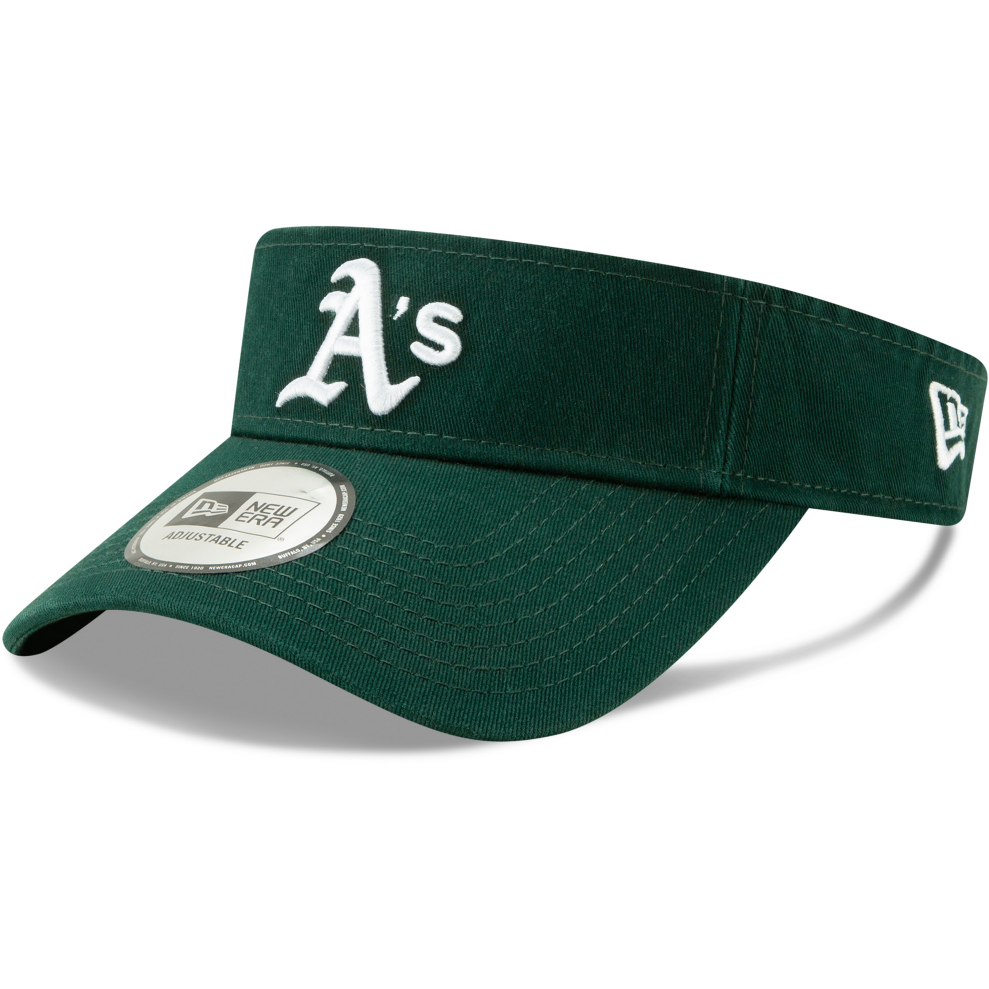 Oakland Athletics New Era Dugout Redux 2 Visor - Green - OSFA