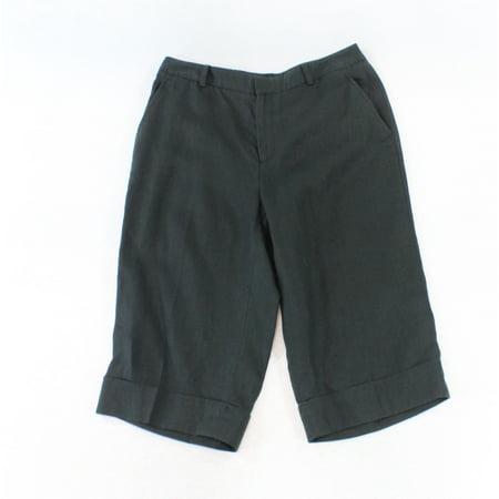 Linen Cropped Capris - Women's 2X15 Capris Cropped Cuffed Linen Pants 2