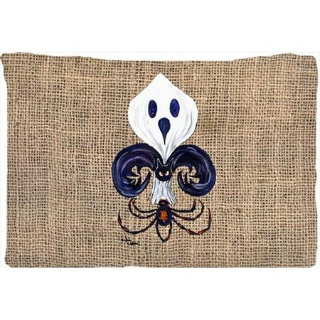 Ghost Spider Bat Fleur De Lis Moisture Wicking Fabric Standard Pillowcase