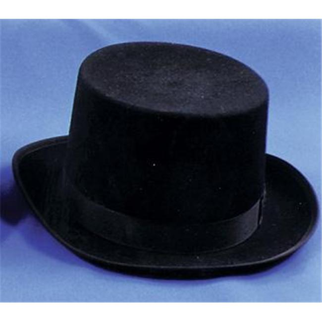 Costumes For All Occasions Ga04Bksm Top Hat Felt Qual Black Sml