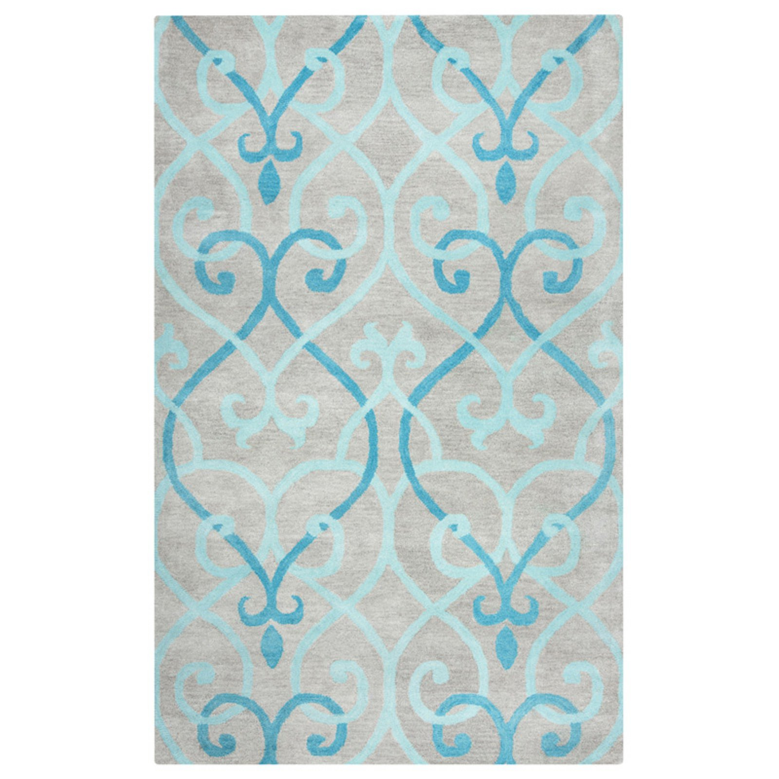 Rizzy Home Bradberry Downs Hand-Tufted Area Rug 8 Ft. X 8 Ft. Round Blue Model BBDBD8863T20008RD
