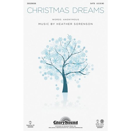 Christmas Shawnee Press - Shawnee Press Christmas Dreams ORCHESTRATION ON CD-ROM Composed by Heather Sorenson