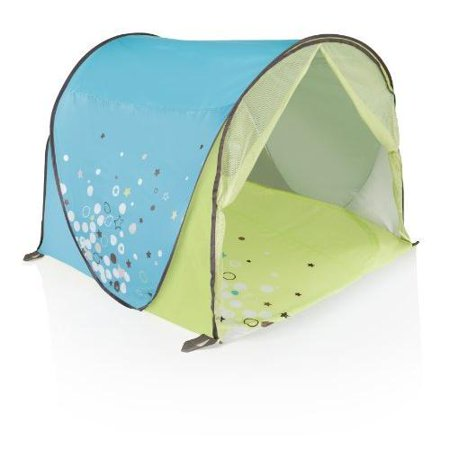 Image of Babymoov - Anti-Uv Tent (Blue/Green) Protects against harmful rays, sand & wind