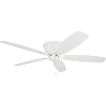 "52"" Honeywell Glen Alden White Hugger Ceiling Fan"