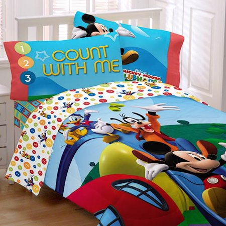 Mickey Mouse Clubhouse Double Bedding Set