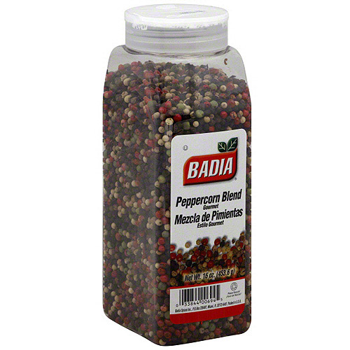 Badia Peppercorn Blend Seasoning, 16 oz (Pack of 6)