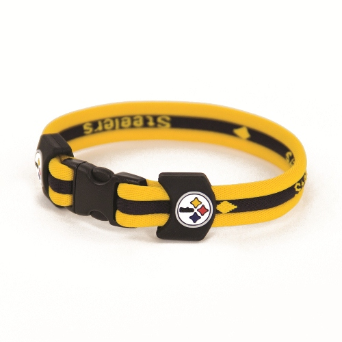 Pittsburgh Steelers NFL 7'' Titanium Sports Bracelet