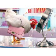 Avanti Press Chicken, Pink Purse and Makeup Mirror StandOuts Pop Up Funny / Humorous Feminine Birthday Card for Her : Woman : Women