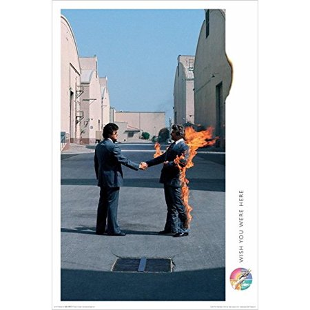 Pink Floyd Wish you Were Here 36x24 Music Art Print Poster   British progressive rock band Pink Floyd 9th Album