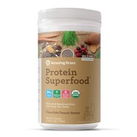 Amazing Grass Plant Protein Superfood Powder, Chocolate Peanut Butter, 16 Servings
