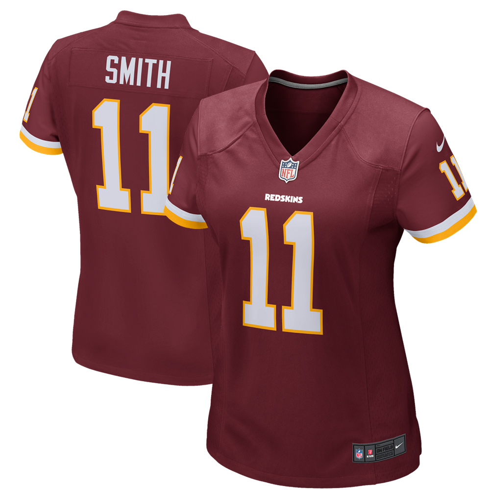 Alex Smith Washington Redskins Nike Women's Game Jersey - Burgundy