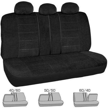Bdk Encore Style Split Bench Car Seat Covers For Rear Seat